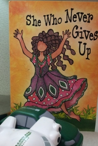 She who never gives up