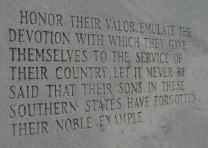 The war attached to this monument really doesn't matter.  It matters that we remember and honor the sacrifice of our veterans, whether living or not.