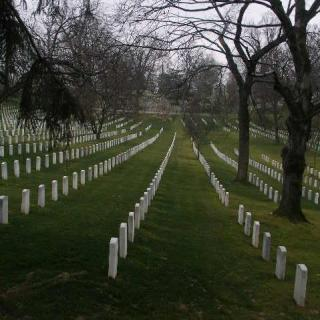 Arlington National Cemetery.  Surely there are enough stories worth telling here.