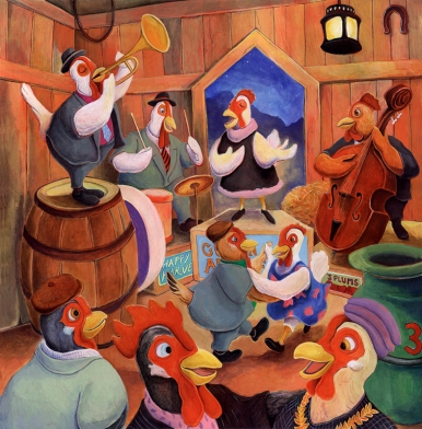 Chicken Barn Dance by Matthew Finger