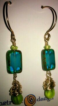 Earrings from Moonstruck