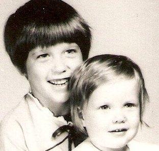 Chele and Jon Anne, circa 1969