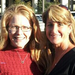 At Mississippi State last year with one of my oldest friends, Jeanna.