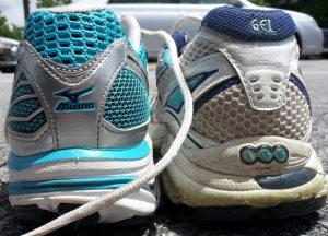 "A ""pair"" of shoes I once took to another job so that I could take a walk at lunch."