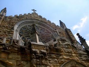Stone church at Sewanee