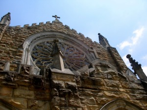 Stone church at Sewanee