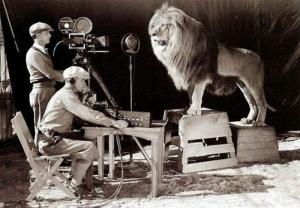 MGM lion film