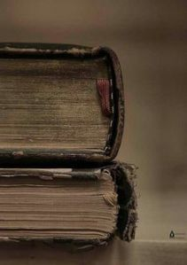 worn book covers