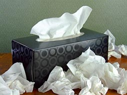 Box-of-Paper-Facial-Tissues-with-Pile-of-Used-Tissues-190