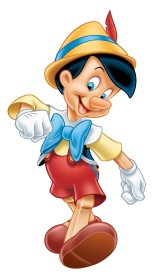 pinnochio walking